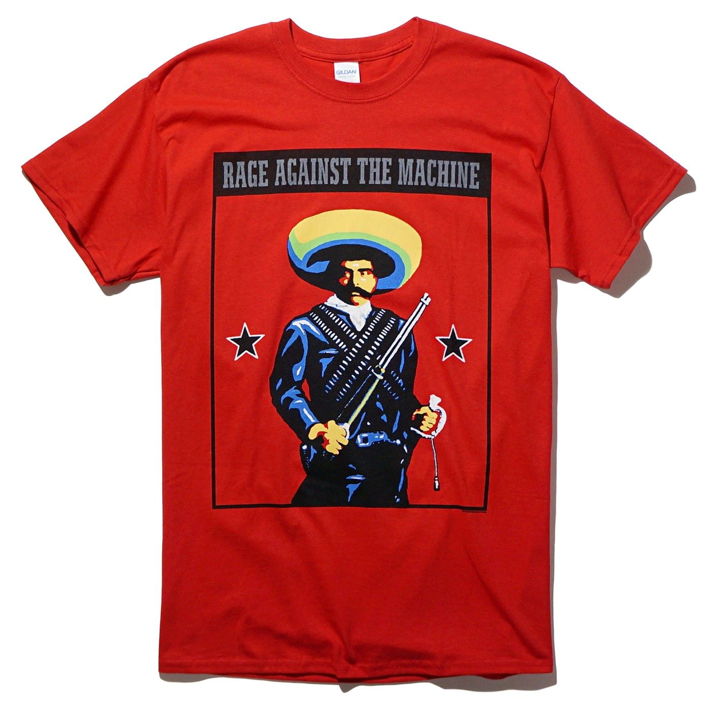 RAGE AGAINST THE MACHINE Tシャツ Zapata -Red