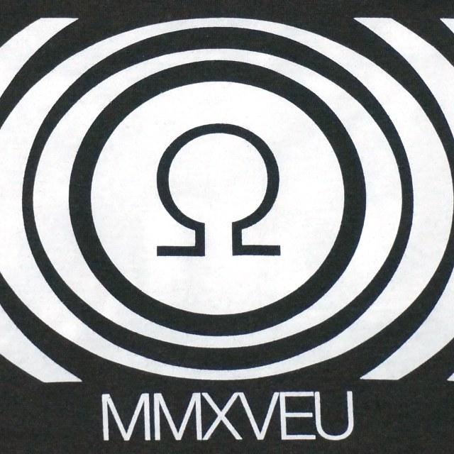 SUNN O))) (サン) Tシャツ Logo/Omega 2015-Blk