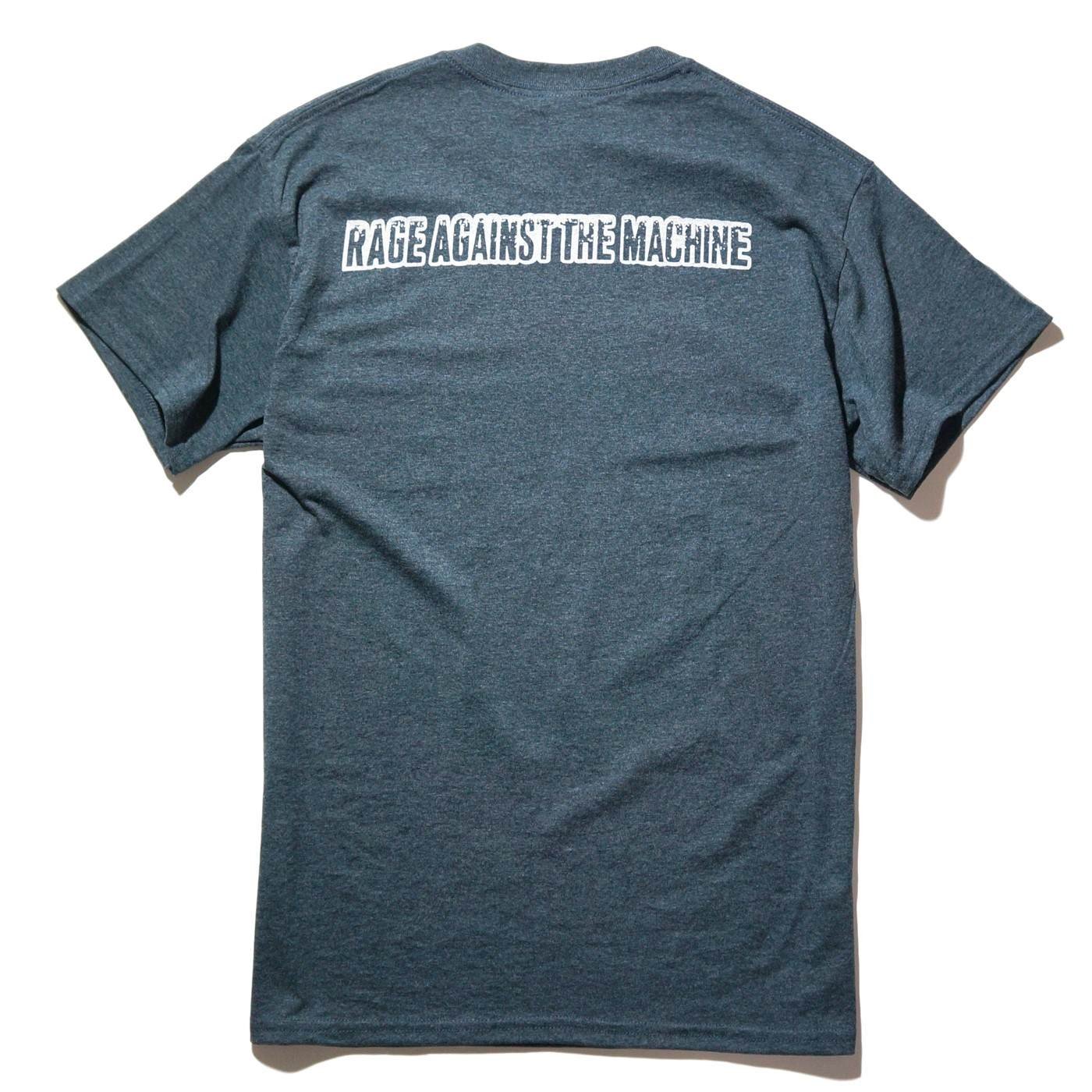 RAGE AGAINST THE MACHINE Tシャツ Who Laughs Last-Heather Gray