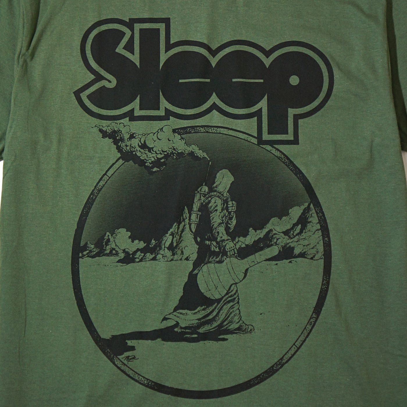 SLEEP Tシャツ Lungsman -Green