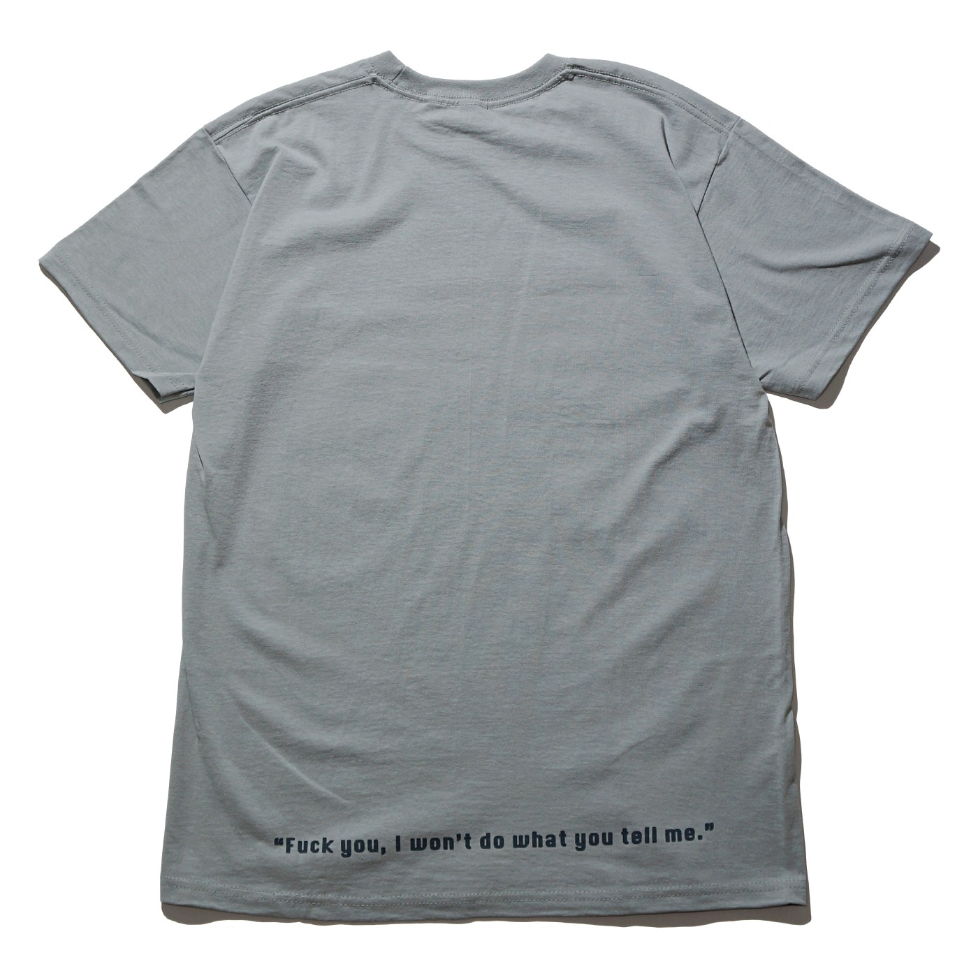 RAGE AGAINST THE MACHINE Tシャツ Wont Do-Grey