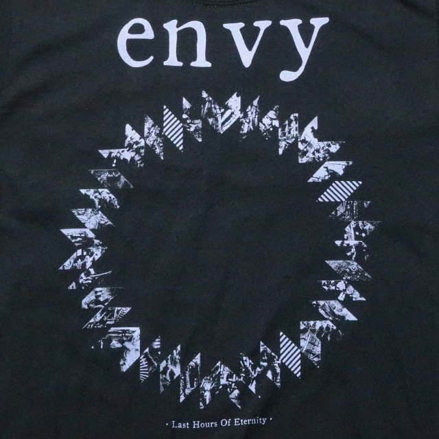 envy バンド Tシャツ Last Hours - Black