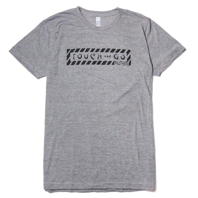 Touch and Go Records Tシャツ タッチアンドゴー・レコード/Heather Gray -Blk