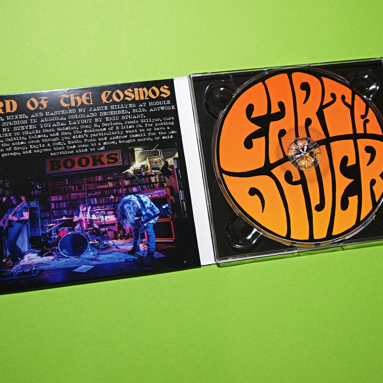 EARTHDIVER - Lord Of The Cosmos CD(Ltd.200)