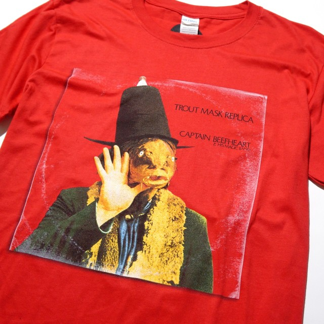 Captain Beefheart & His Magic Band Tシャツ Trout Mask Replica-Red