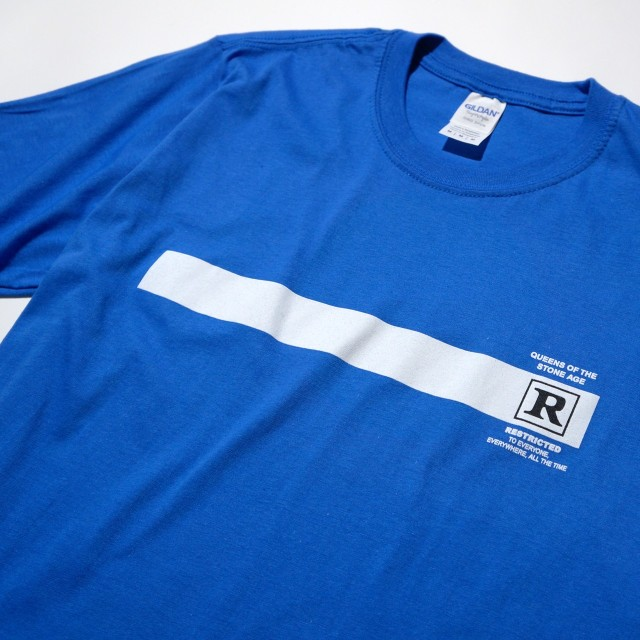 Queens of the Stone Age Tシャツ Rated R-Blue