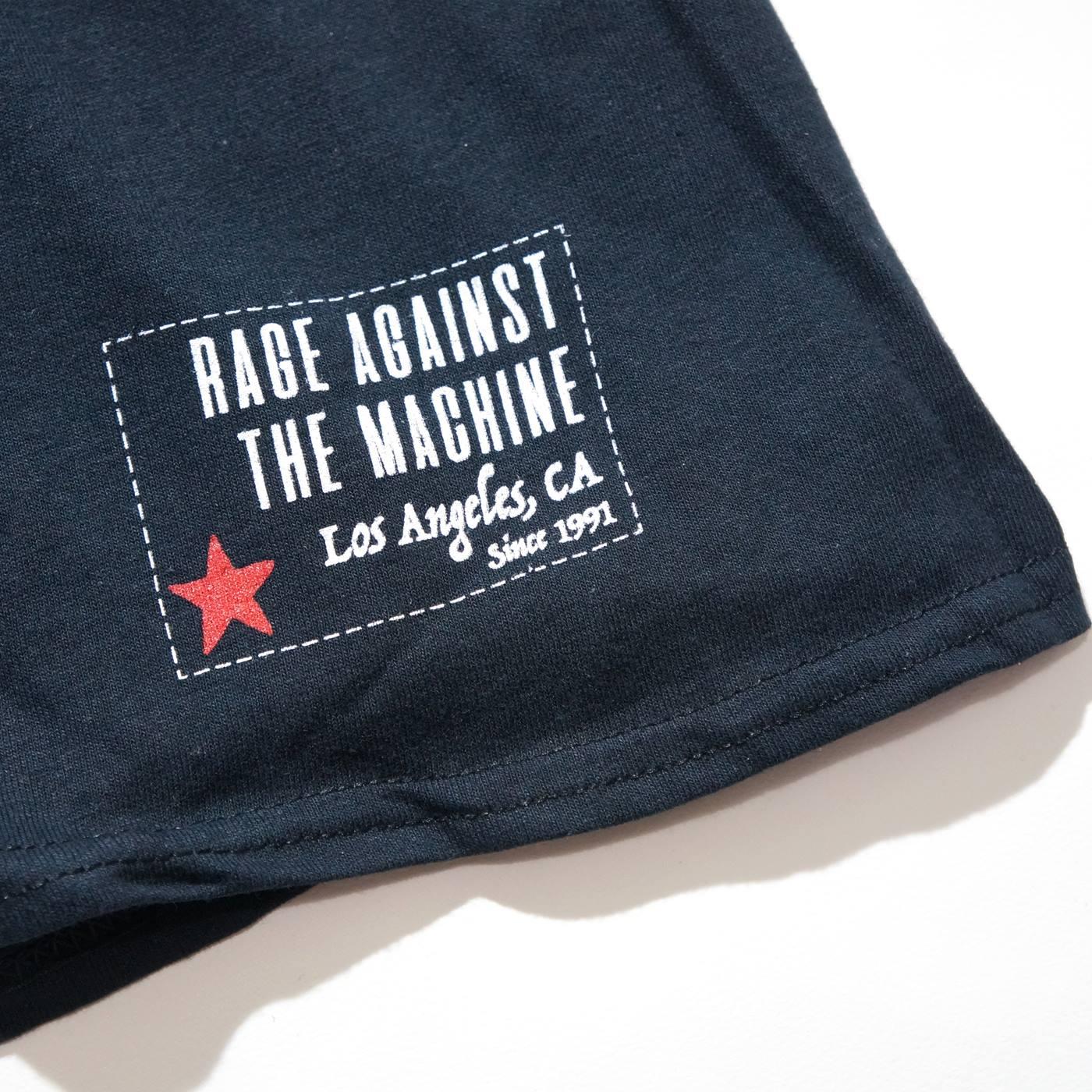 RAGE AGAINST THE MACHINE Tシャツ Battle 99-Black