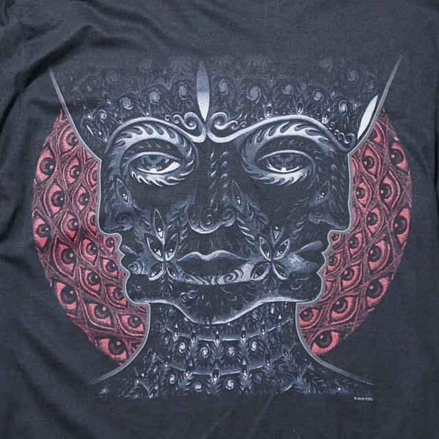 TOOL Tシャツ 10,000 Days Logo-Black