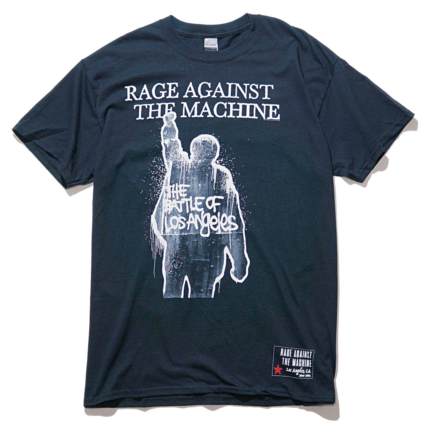 RAGE AGAINST THE MACHINE Tシャツ Bola Album Cover Trucks-Black