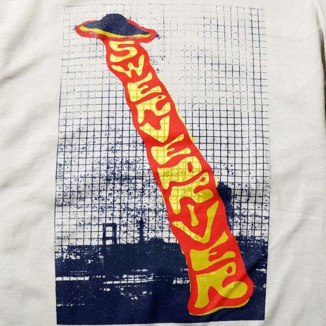 SWERVEDRIVER Tシャツ Invasion Durham - Gray