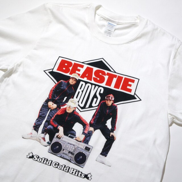 BEASTIE BOYS Tシャツ Solid Gold Hits-White