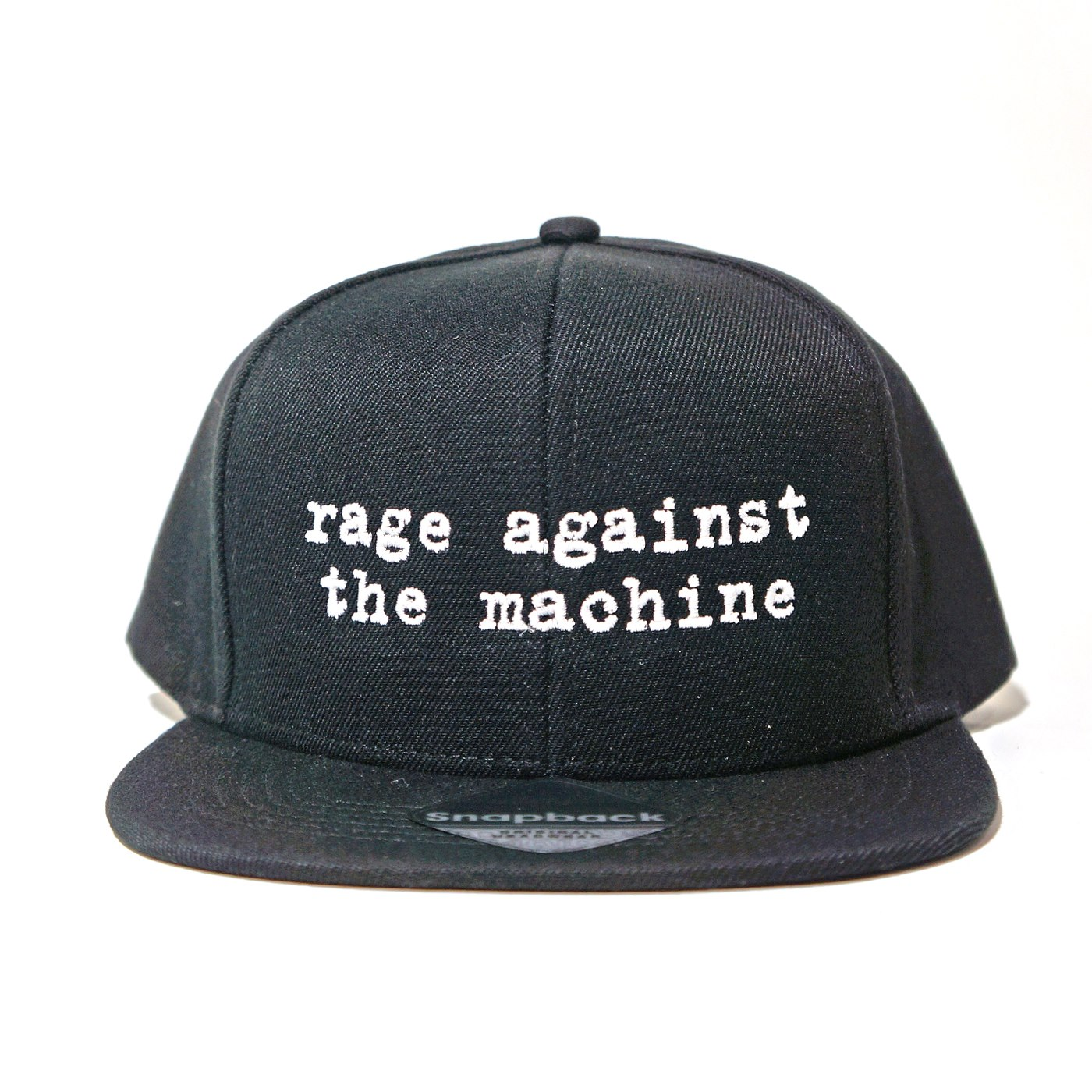 RAGE AGAINST THE MACHINE スナップバック キャップ Logo-Black
