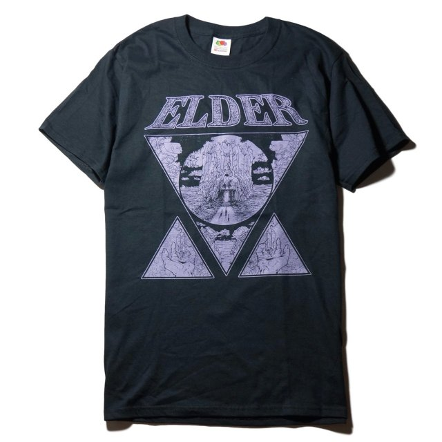 ELDER バンド Tシャツ /Crystal shirt-Black