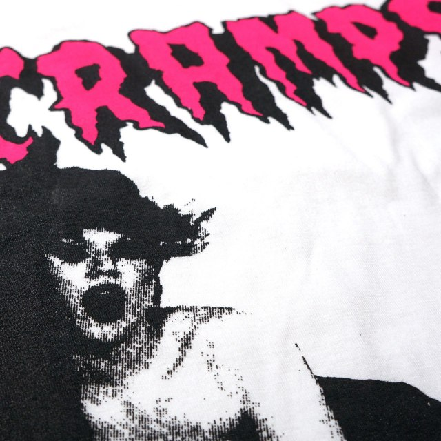 The CRAMPS Tシャツ ザ・クランプス Smell Of Female - White