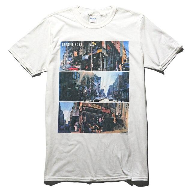 BEASTIE BOYS Tシャツ Street Images-White