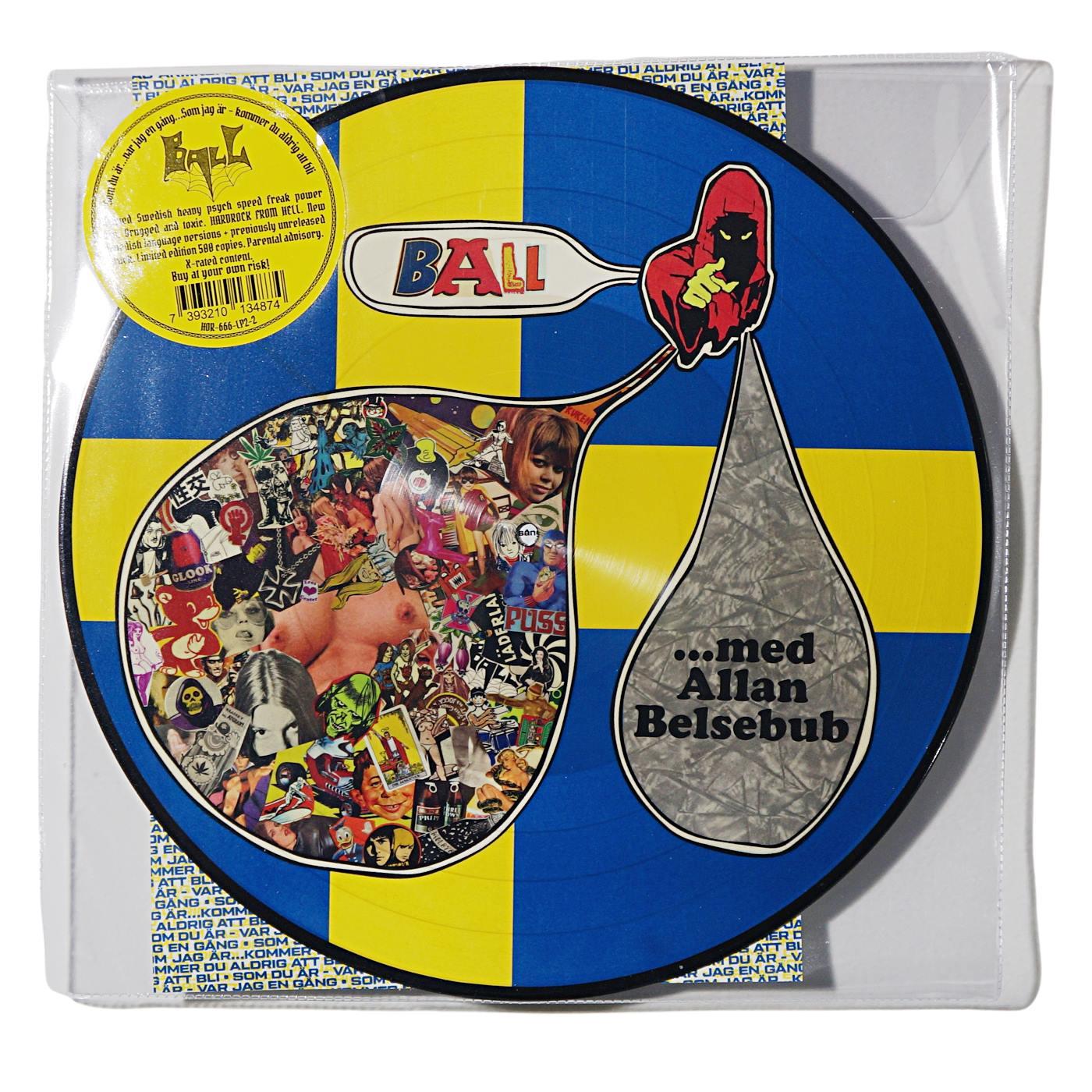 BALL-Som Du ar…Var jag en gang…Som jag ar-Kommer du aldrig att bli (LP Ltd.500 Picture Disc)