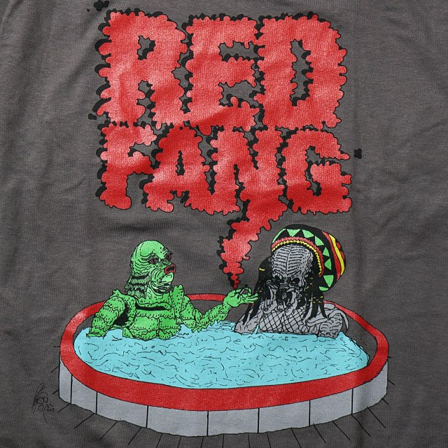RED FANG Tシャツ Maximum Relaxation-Gray