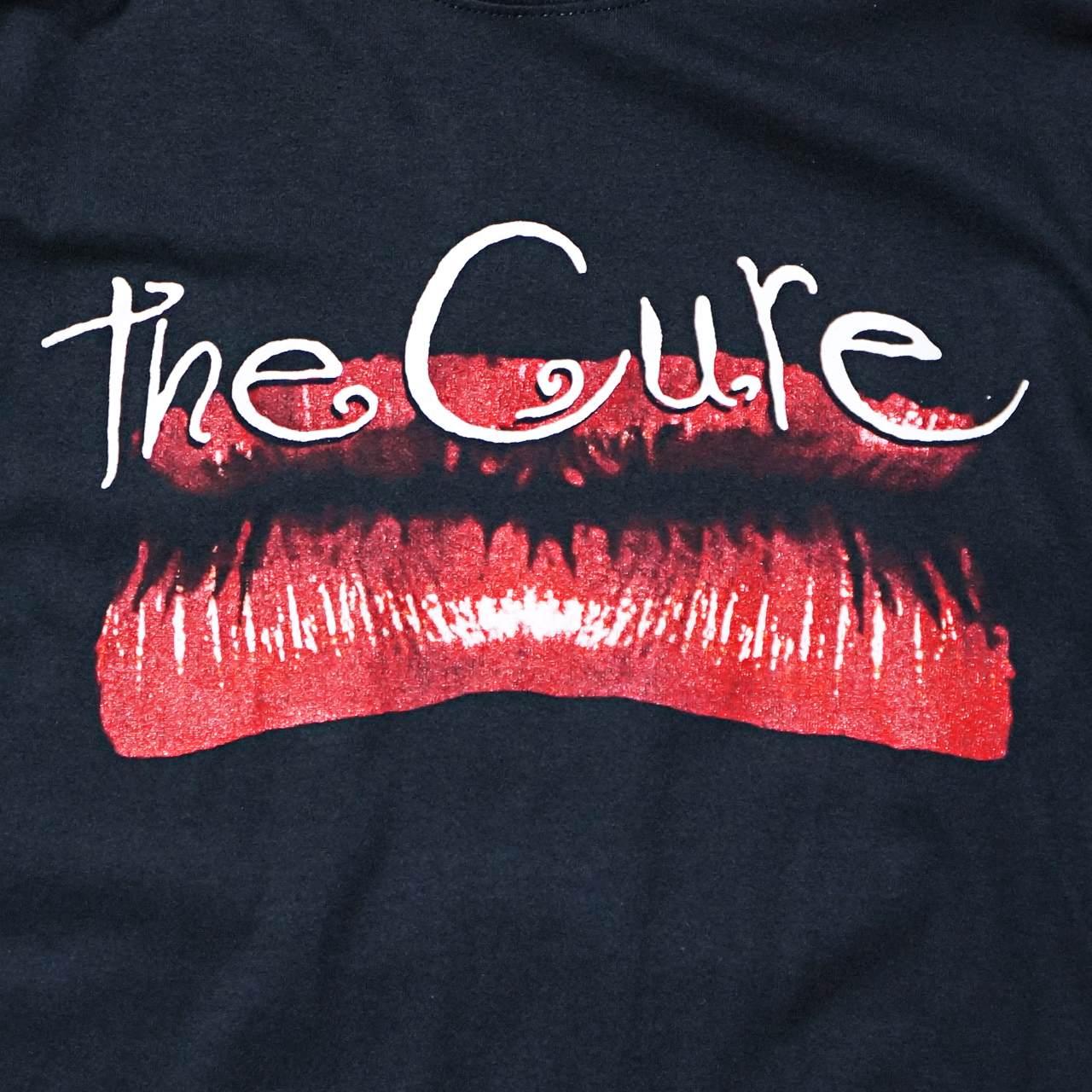 THE CURE キュアー バンドTシャツ Kiss Me-Black