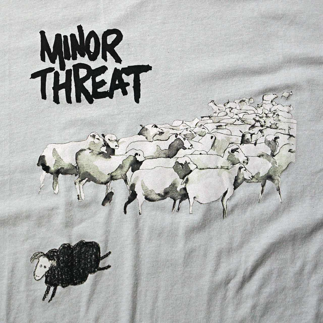 MINOR THREAT Tシャツ Out of Step-Grey