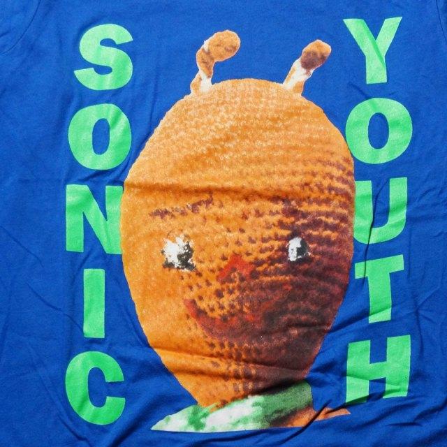 Sonic Youth ロングスリーヴTシャツ DIRTY Alien/BLUE