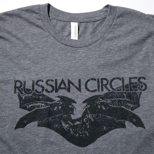 RUSSIAN CIRCLES Tシャツ Bats-Grey
