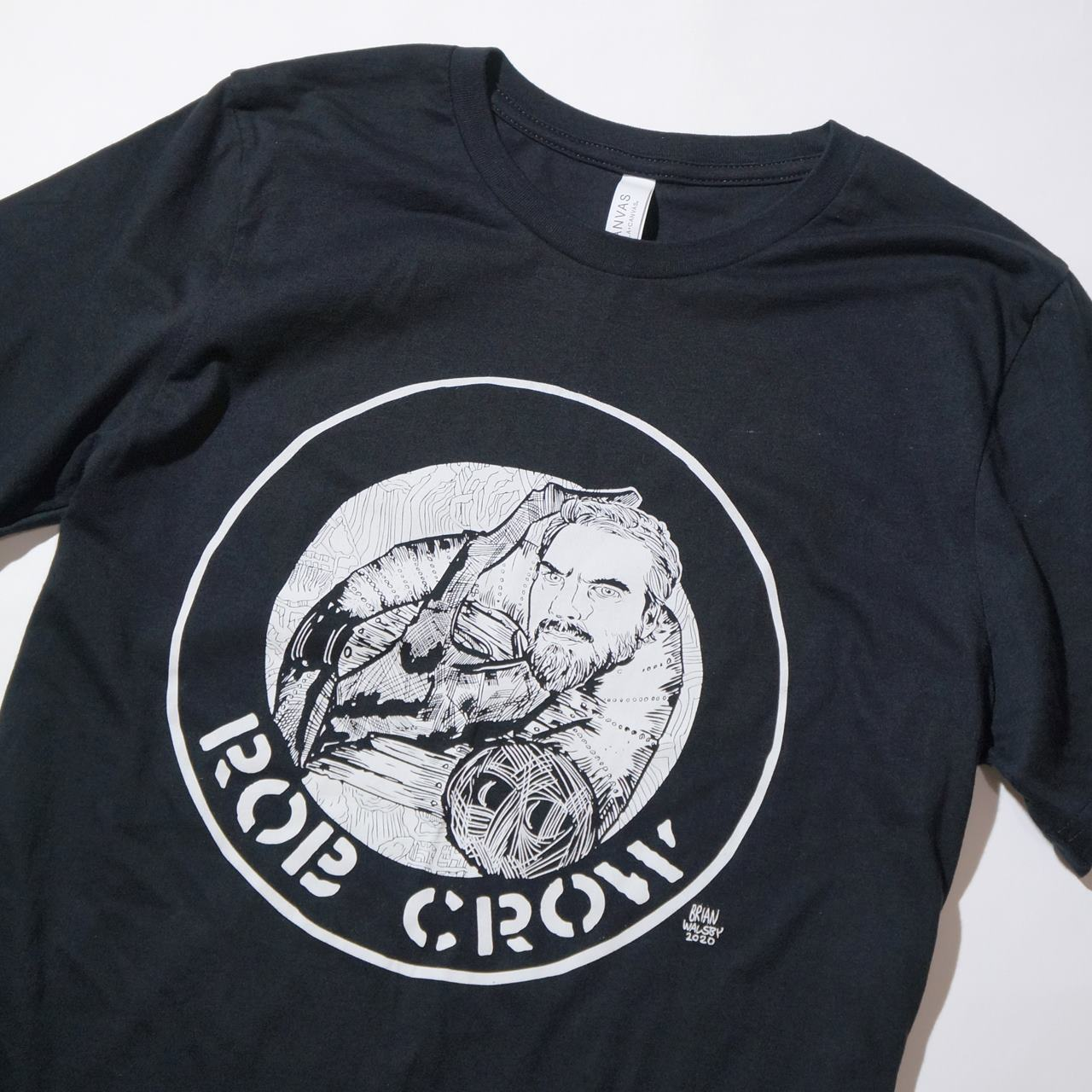 (SALE)ROB CROW Tシャツ Rudimentary-Black