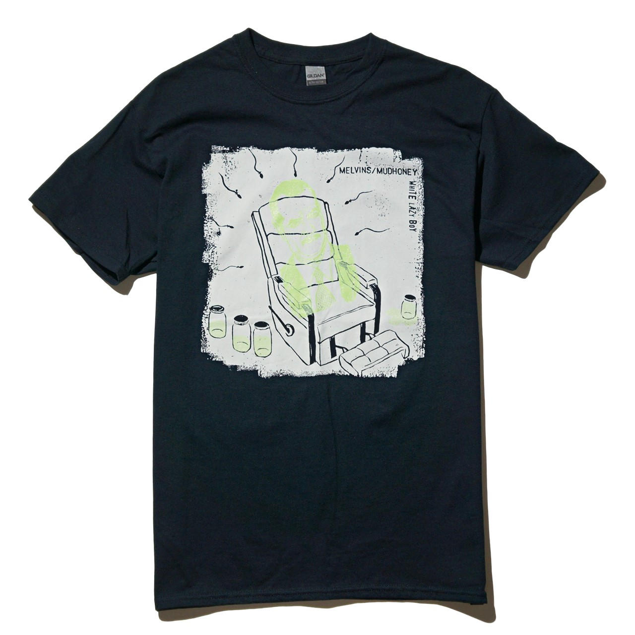MELVINS/MUDHONEY Tシャツ Lazy White Boy