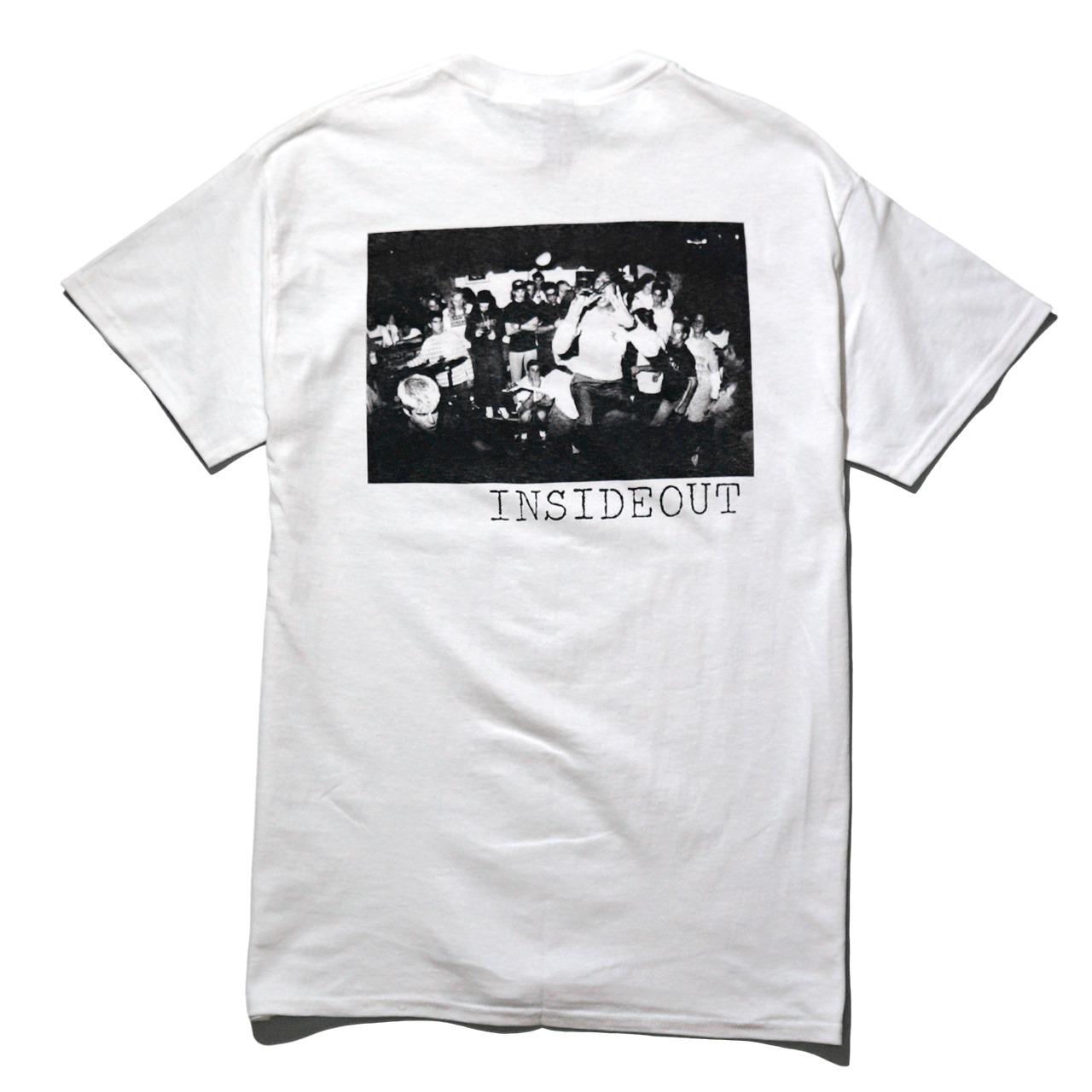 INSIDE OUT Tシャツ Logo-White