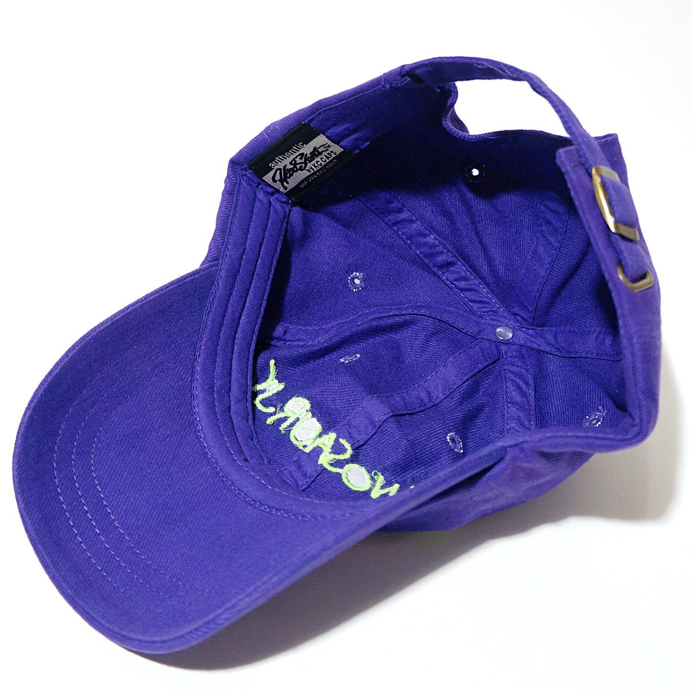 Dinosaur Jr. キャップ Lime Logo Hat-Purple