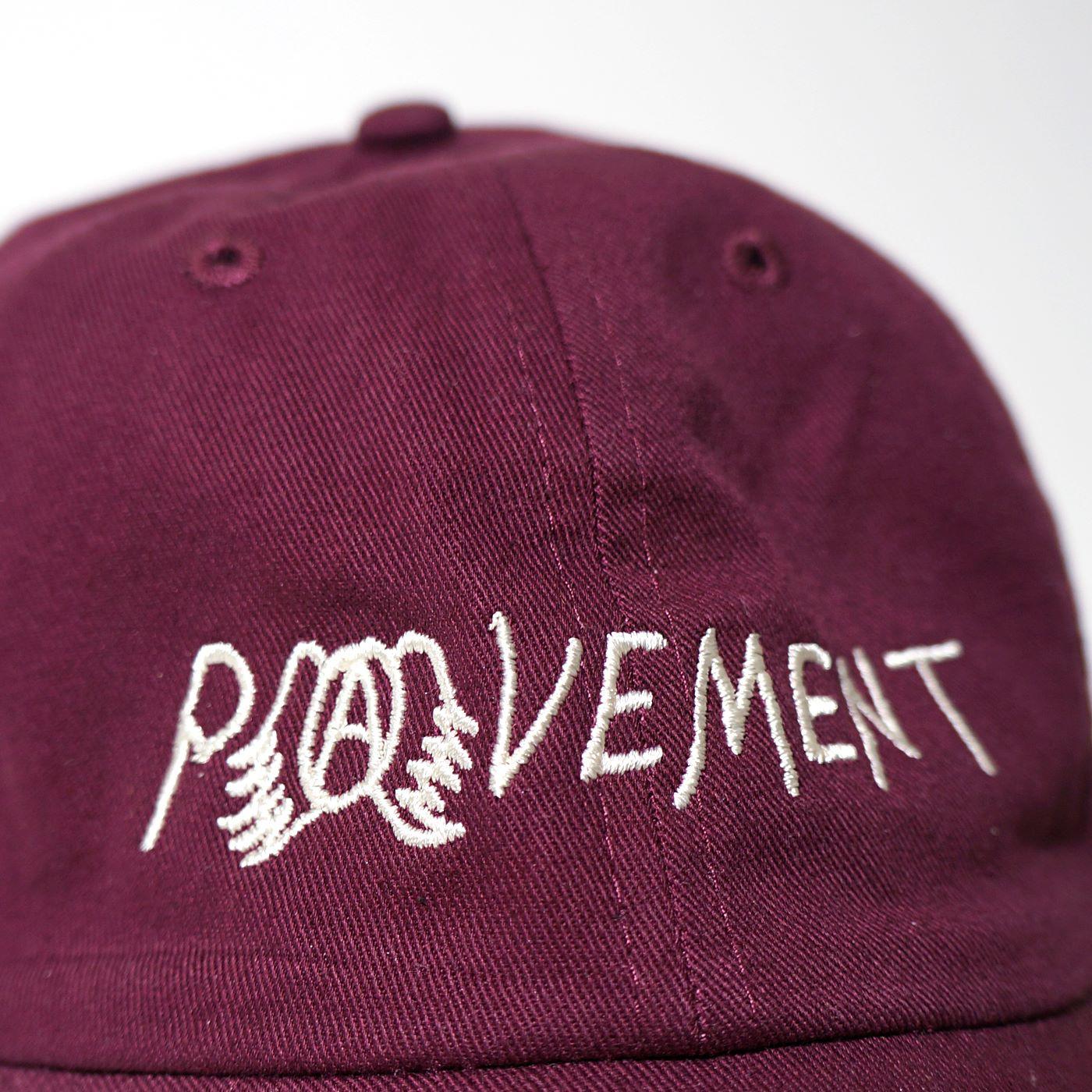 PAVEMENT キャップ Dad Hat-Burgundy