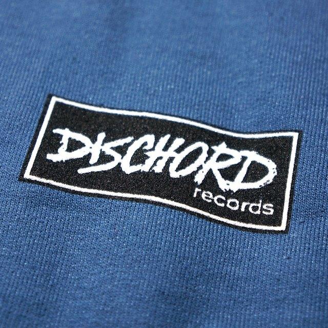 Dischord Records スウェットシャツ トレーナー Box Logo -Indigo Blue