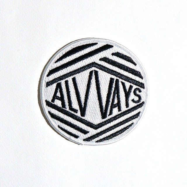 "Alvvays パッチ ワッペン Embroidered 3"" Patch"