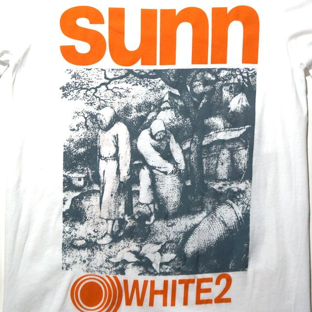 SUNN O))) Tシャツ White 2 - ホワイト