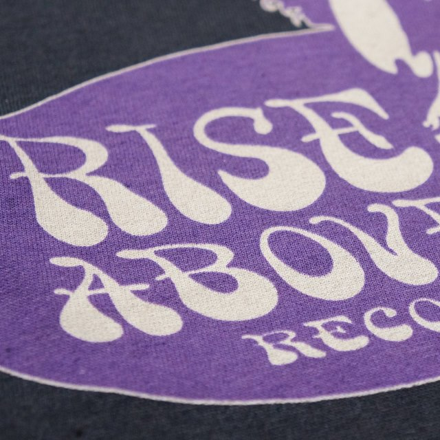 RISE ABOVE Records Tシャツ/ Label shirts
