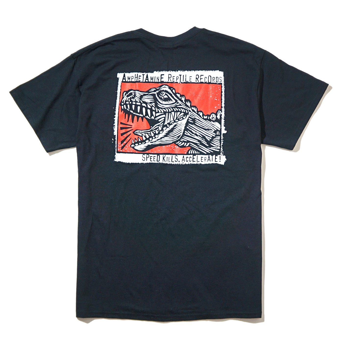 AMPHETAMINE REPTILE Records Tシャツ Speed Kills Accelerate