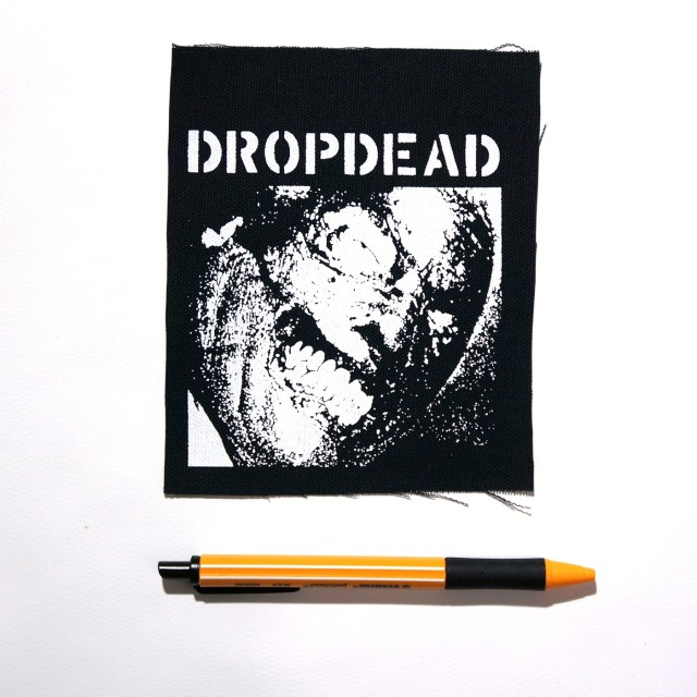 DROPDEAD バンド 布パッチ - Self Titled Cover