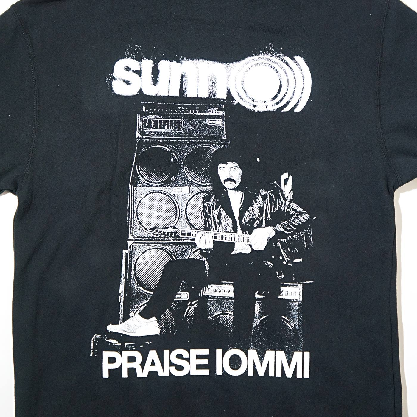 SUNN O))) ジップアップパーカー Praise Iommi-Black