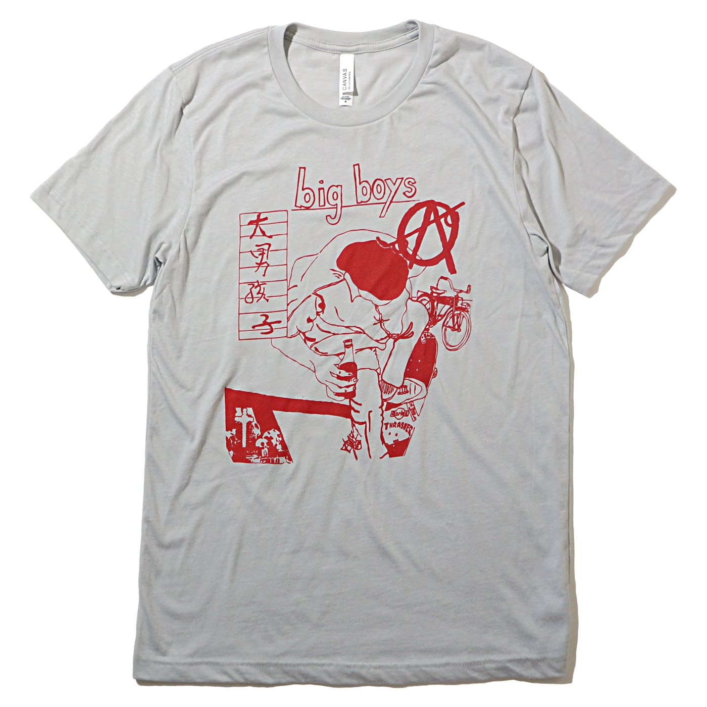 BIG BOYS Tシャツ Do You Skate
