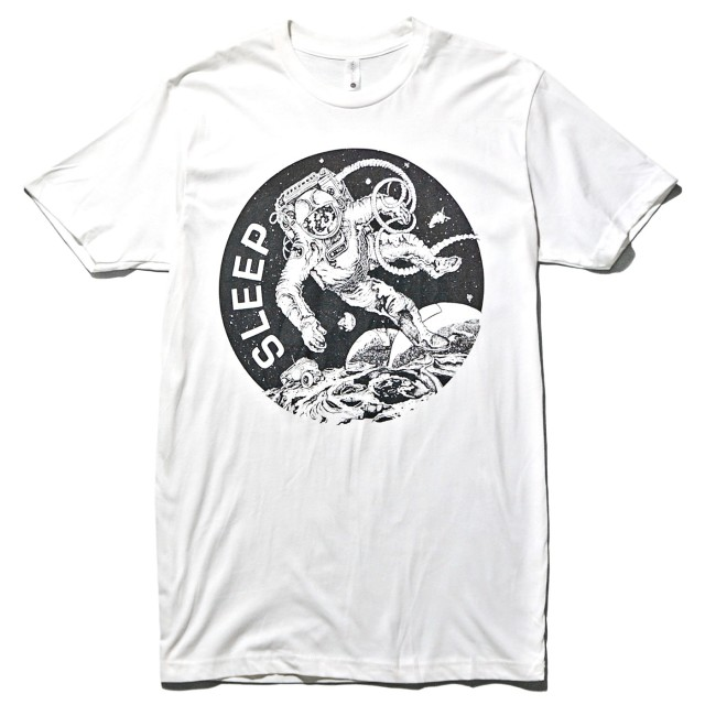 SLEEP Tシャツ The Clarity Astronaut - White