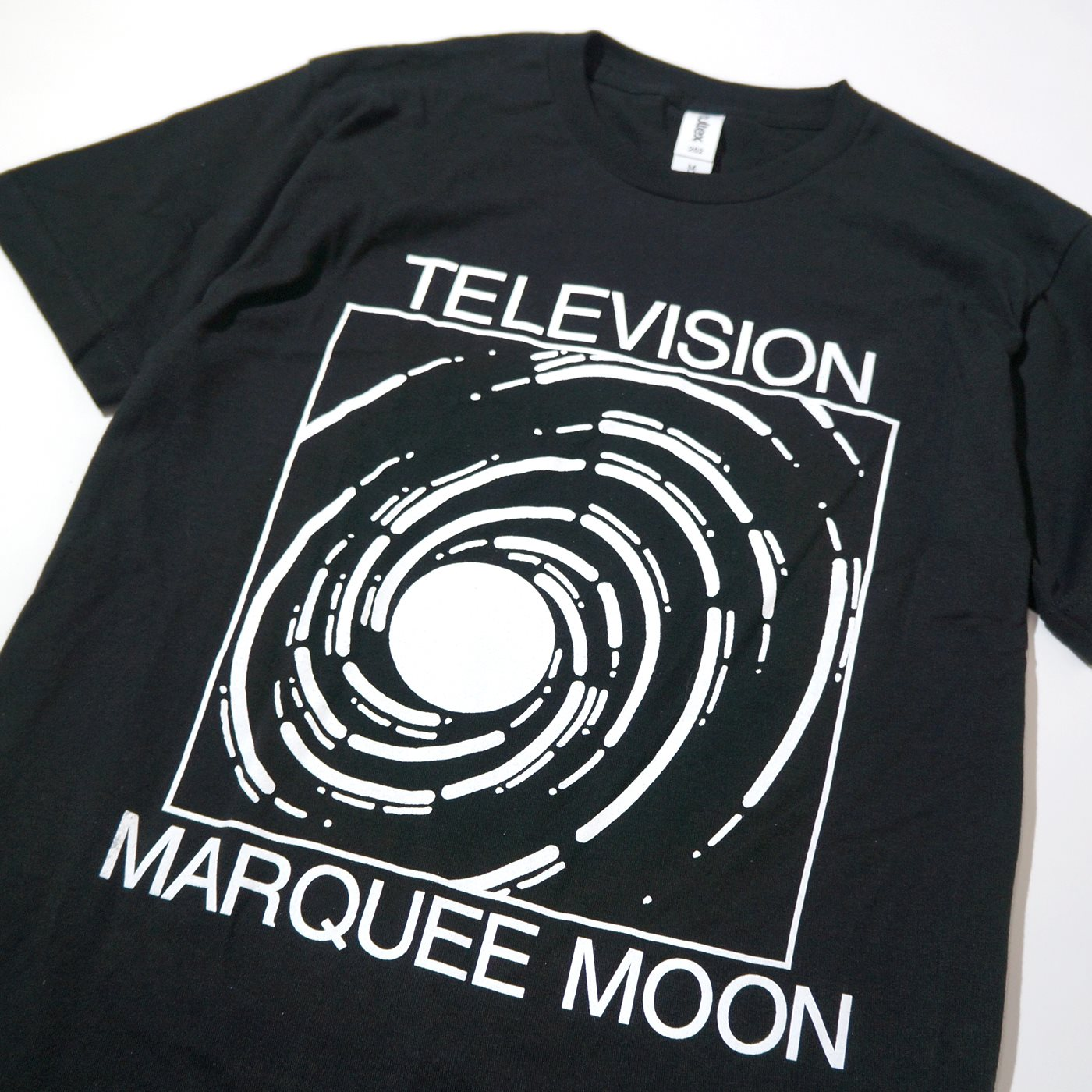 TELEVISION Tシャツ Marquee Moon-Black