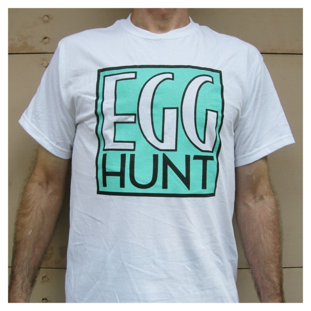 EGG HUNT Tシャツ/Dischord Records/ホワイト