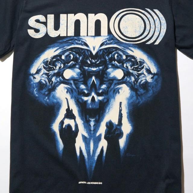 SUNN O))) Tシャツ 2016 June Euro Tour Petagno-Black