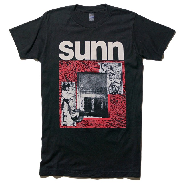 SUNN O))) Tシャツ 限定 Alice Denuit Black Tour 2019-Blk