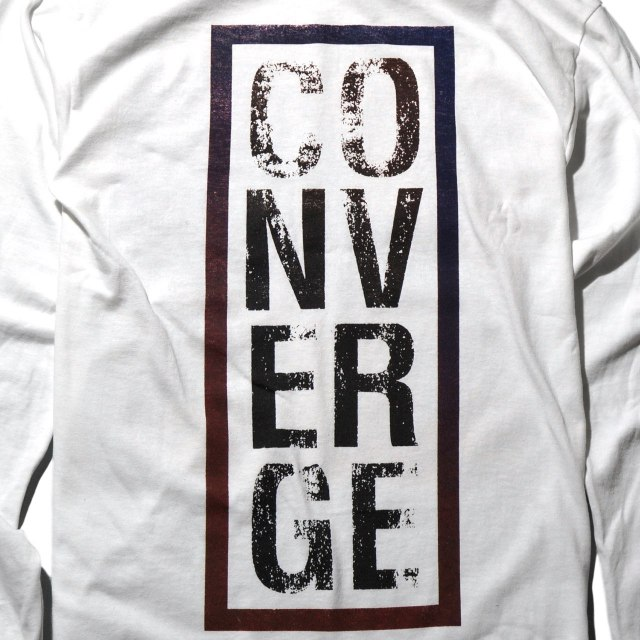 CONVERGE ロングスリーブシャツ EVE-White