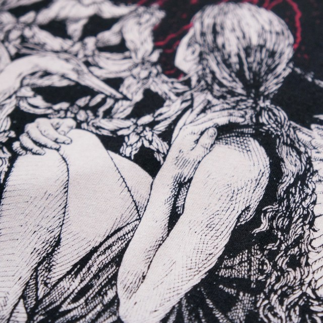 SUNN O))) Tシャツ Caroline Harrison Volcano-Black