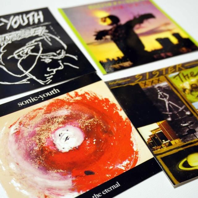 Sonic Youth ステッカー Album Cover Sticker Set (4枚セット)