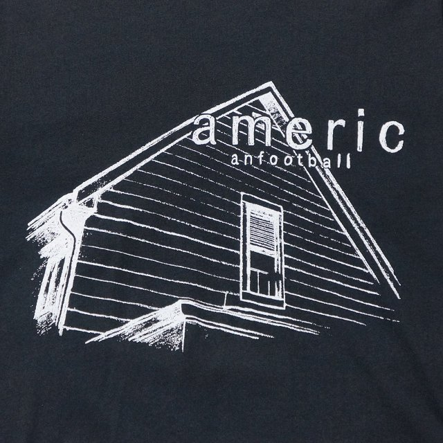 AMERICAN FOOTBALL Tシャツ Stay Home-Black