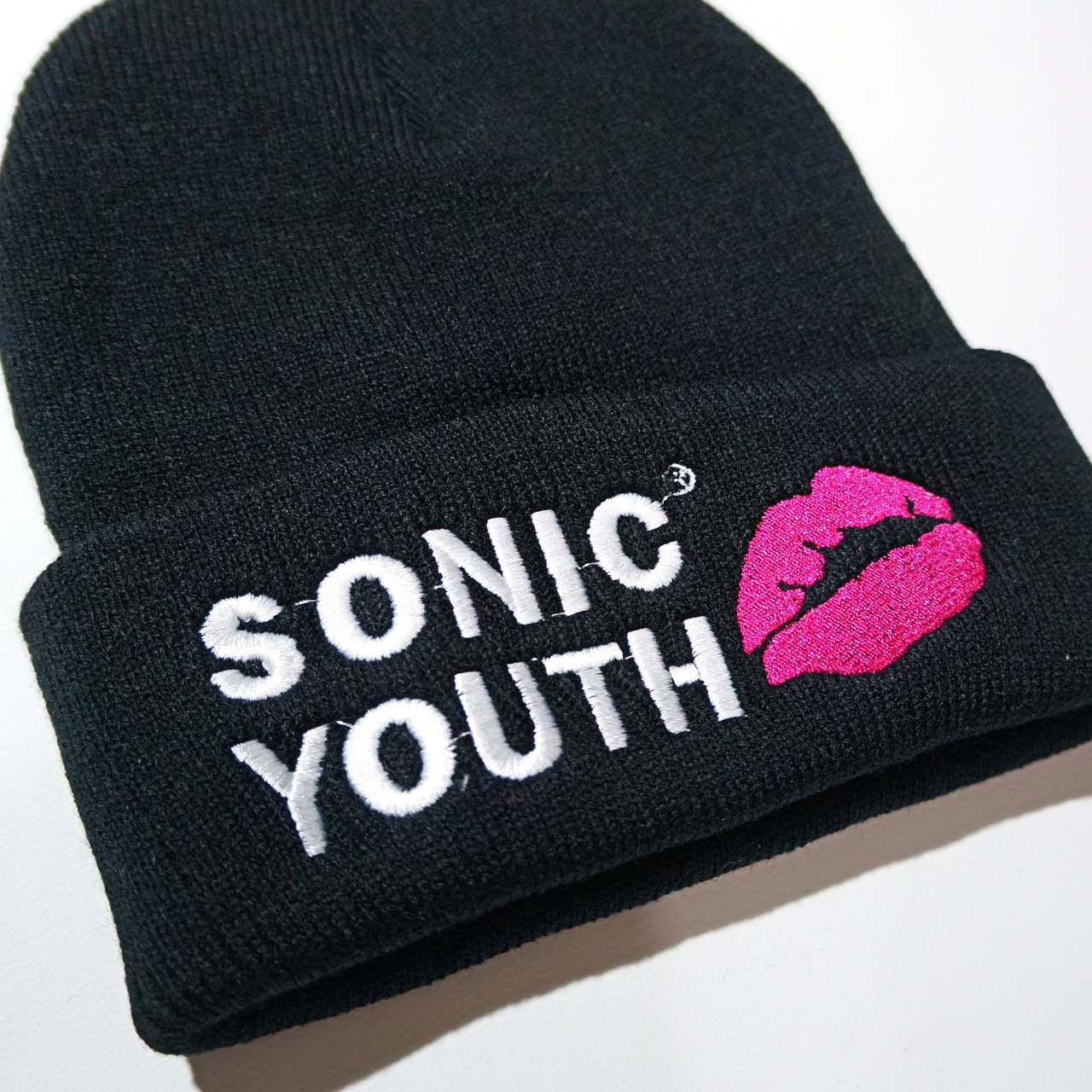 SONIC YOUTH ビーニー ニットキャップ Goo Logo