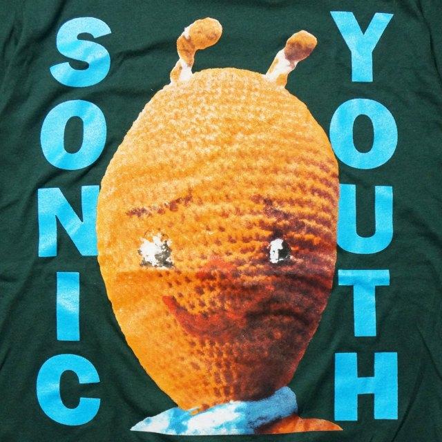 Sonic Youth Tシャツ DIRTY Alien/ソニックユース -Green