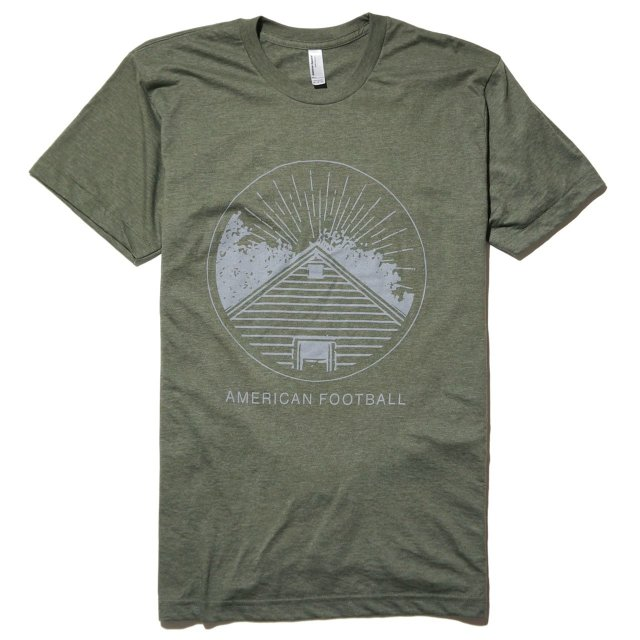 AMERICAN FOOTBALL Tシャツ Home Is Where the Haunt Is-Gray